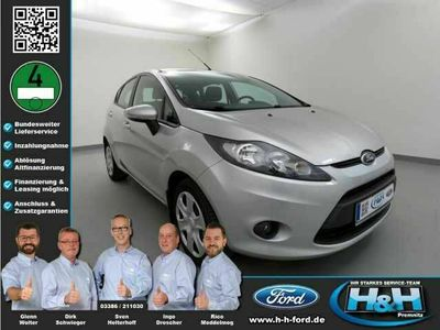 gebraucht Ford Fiesta 1.25 Trend (Standheizg+Winterpaket)