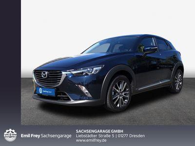 gebraucht Mazda CX-3 SKYACTIV-G 120 FWD Sports-Line Voll-LED