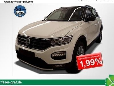 gebraucht VW T-Roc Style 1.0 TSI 85 kW ACC Rückfahrkamera NAV