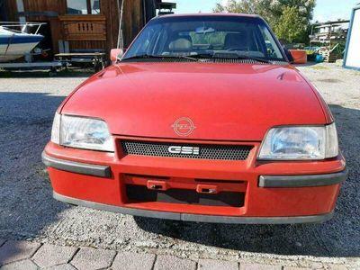 gebraucht Opel Kadett Scheunenfunde Gsi im Orgi...