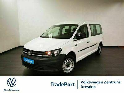 gebraucht VW Caddy Maxi Kombi 1,0 TSI KLIMA AHZV SHZ 5-SITZER 2,99% -