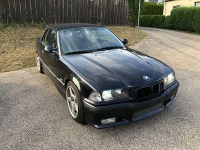 used BMW 318 Cabriolet e36 Cosmosschwarz Borbet