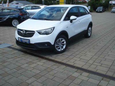 gebraucht Opel Crossland X 1.2, 81 PS Einparkhilfe, Bluetooth