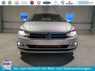 "gebraucht VW Polo Highline 1.0 TSI 95 PS DSG-4JahreGarantie-2xPDC-SHZ-Climatronic-Tempomat-15""Alu-Sofort"