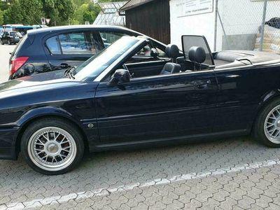 gebraucht Audi 80 Cabriolet 2.0 Sehr gepflegt, Leder, Grüne Plakette
