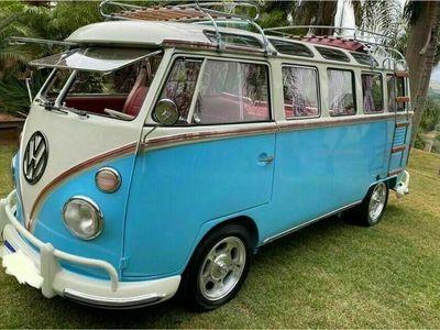 gebraucht VW T1 VWSamba Bus 1973 MWST ausweisbar Zulas...