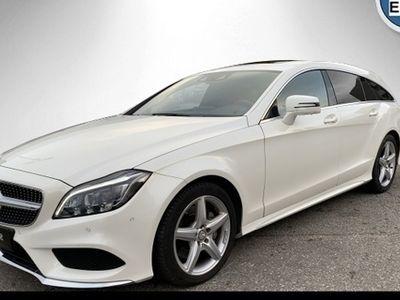 gebraucht Mercedes CLS350 d SB 4M AMG Line designo Exkl-Paket 360°