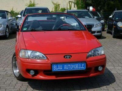 gebraucht Toyota Paseo Cabrio *LEDER*SITZHZG*3.HAND*TÜV 6-22*