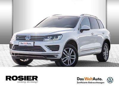 gebraucht VW Touareg 3.0 V6 TDI R-Line XENON NAVI ACC EU6
