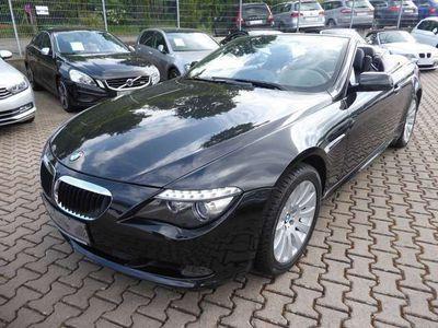 gebraucht BMW 630 Cabriolet i Aut. Leder Navi Xenon Scheckheft