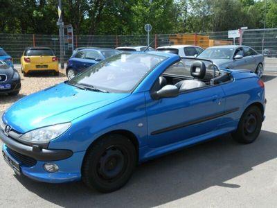 gebraucht Peugeot 206 CC Cabriolet Platinum