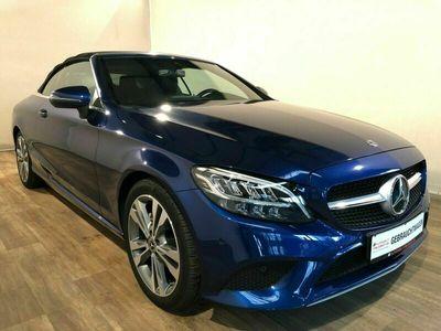 """gebraucht Mercedes 220 C9G. Cabr. LED-AIRCAP-NAV-SH-KAM-KeyGo-18"""""""