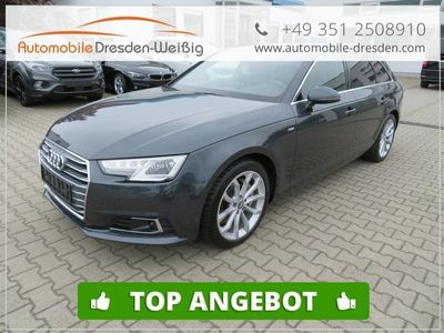 gebraucht Audi A4 2.0 TDI quattro S Line*S Tronic*KeyGo*ACC
