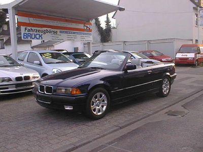 gebraucht BMW 318 Cabriolet i Leder, Klima, elektr. Cabrioverdeck