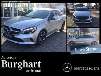 gebraucht Mercedes A180 Urban/Navi/Autom./Klima/LED/Park-Assist.