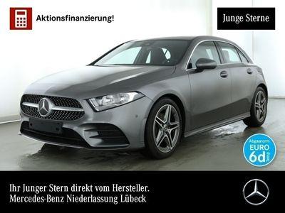 gebraucht Mercedes A180 AMG Pano Keyl-GO Spurhalt-Ass PTS Sitzh Temp