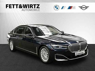 gebraucht BMW 745 Neu Le xDrive TV+ Laser Pano HUD Klimasitze+Mass.