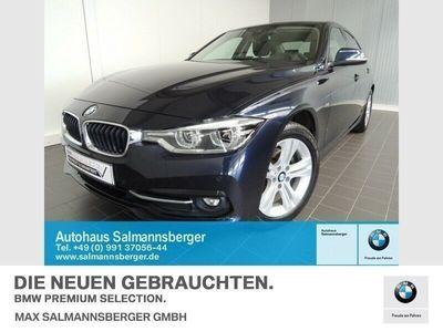 gebraucht BMW 320 d xDrive Sport Line LED Navi Komfortzugang (Xenon