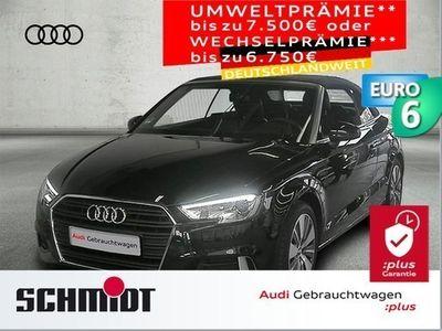 gebraucht Audi A3 Cabriolet 2.0 TDI Sport Virt. Cockp., Alc./Leder, Kofortschl., Navi+, SHZ, GRA, PDC
