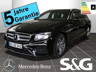 gebraucht Mercedes E300 T AMG-Line COMAND/ESHD/Multibeam/360°/..