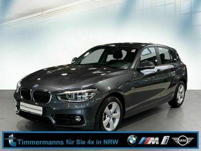 gebraucht BMW 120 d Sport Line Navi Business Klimaaut. Leder