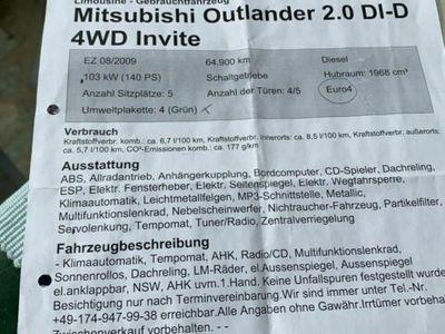 gebraucht Mitsubishi Outlander ( Reserviert)