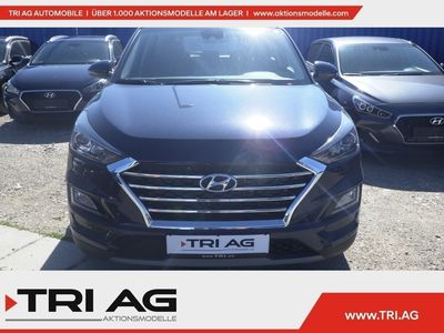 gebraucht Hyundai Tucson Trend MH 2WD 1.6 CRDi 7-DCT Navi Kurvenlicht Rückfahrkam. SHZ Temp