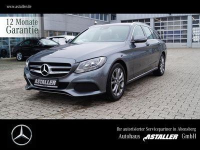 gebraucht Mercedes C220 T d Avantgarde+Spur+Sitzkomf+Totw+Navi+17'