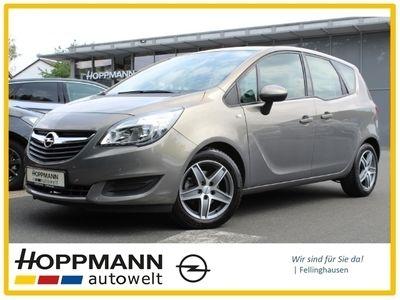 gebraucht Opel Meriva Edition 1.4 Turbo NR Klima Temp CD AUX MP3 ESP MAL Spieg. beheizbar