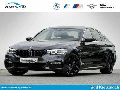 gebraucht BMW 540 i xDrive Limousine M Sportpaket AHK Leder Navi Prof. -