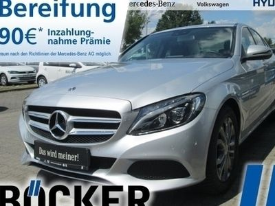 gebraucht Mercedes C200 d Avantgarde Navi LED HighP PTS Durchlade