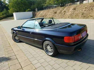 gebraucht Audi 80 Cabrio dunkelblau ,gepflegt 1997, ...