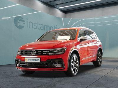 gebraucht VW Tiguan Allspace Tiguan2.0TDI DSG R-Line STHZG P-DACH AHK