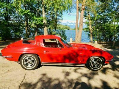 gebraucht Corvette C2 Rot Schaltgetriebe 300 HP