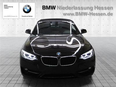 gebraucht BMW 220 d Cabrio Sport Line Navi MFL PDC HiFi Sportlenkrad