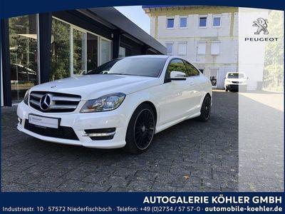 gebraucht Mercedes C220 CDI DPF Coupe (BlueEFFICIENCY) 7G-TRONIC
