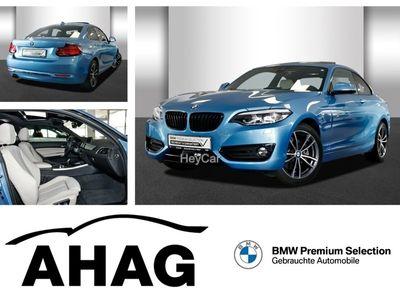 gebraucht BMW 220 d Coupe Aut. Sport Line Navi Prof. 299Euro Leasi
