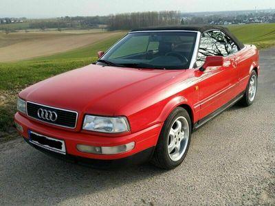 gebraucht Audi 80 Cabrio 1.8 5V Rot mit NEU TÜV bis ...