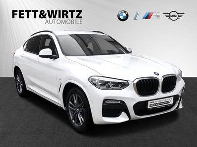 gebraucht BMW X4 xDrive30d MSport AHK HUD H&K LED