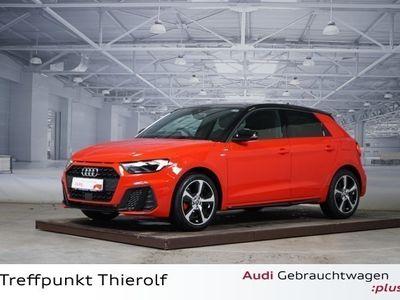 gebraucht Audi A1 Sportback 30 TFSI S-line Optikpaket schwarz
