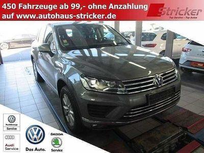 gebraucht VW Touareg 3.0TDI 489,-ohne Anzahlung Navi Xenon Le