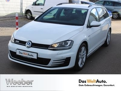 gebraucht VW Golf VII GTD Variant 2.0 TDI DSG AHK StHz Navi D