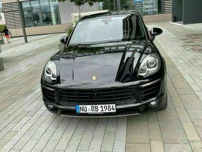 gebraucht Porsche Macan S Panorama Burmester 21 Zoll ACC Luftfederung