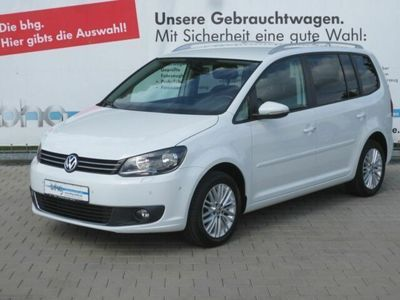 gebraucht VW Touran CUP 1.6 TDI DSG Navi Bluetooth Sitzheizung Tempomat