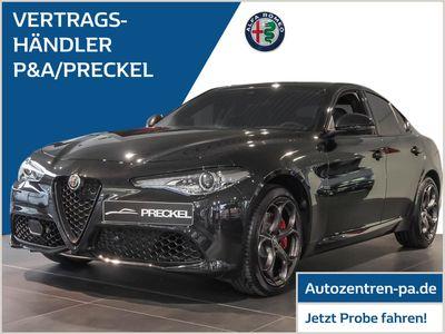 gebraucht Alfa Romeo Giulia Veloce 2.0 Turbo AT8-Q4 /Black-Paket/Navi