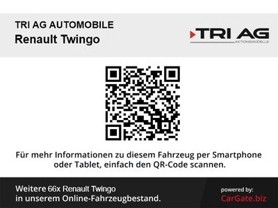 gebraucht Renault Twingo Limited Deluxe SCe 75 Klima SHZ Temp PDC LED-Tagfahrlicht Multif.Lenkrad RDC