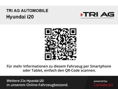 gebraucht Hyundai i20 Trend 1.0 Klima SHZ Temp PDC Multif.Lenkrad RDC Alarm AUX USB MP3 ESP Regensensor