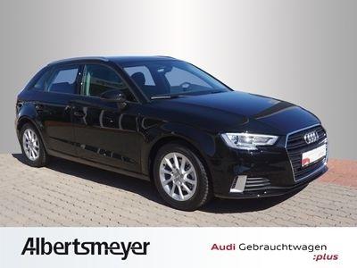 gebraucht Audi A3 Sportback Sport 1.5 TFSI XenonPlus Navi Einparkhilfe -connect DAB Tempomat SHZ