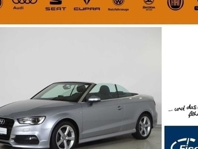 gebraucht Audi A3 Cabriolet Ambition 2.0 TDI DPF S-Line Selection