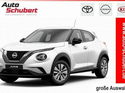 gebraucht Nissan Juke DIG-T 117 Visia+LED+KLIMA+RADIO+TEMPOMAT+ZV+